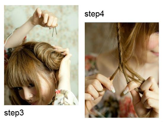 女生的100种扎头发方法