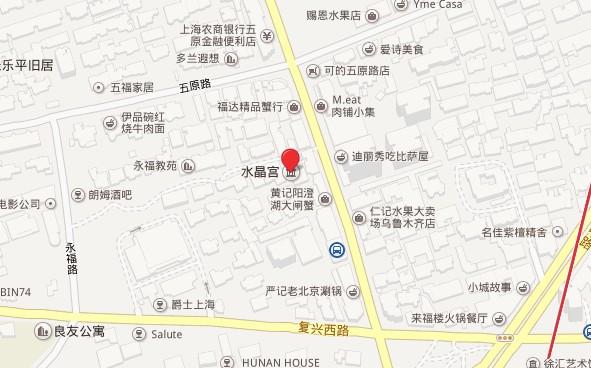 """上海""""水晶宫""""位于乌鲁木齐中路820弄内"""